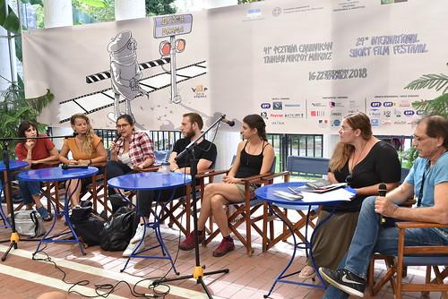 Παρουσίαση Σκηνοθετών Εθνικού ΔΙαγωνιστικού - 17-09-2018