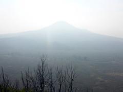Sugarloaf Peak from Hat Creek Rim