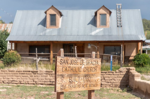 Northern New Mexico - Las Trampas Church