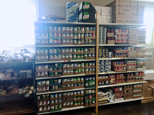 Food pantry at SCCAP