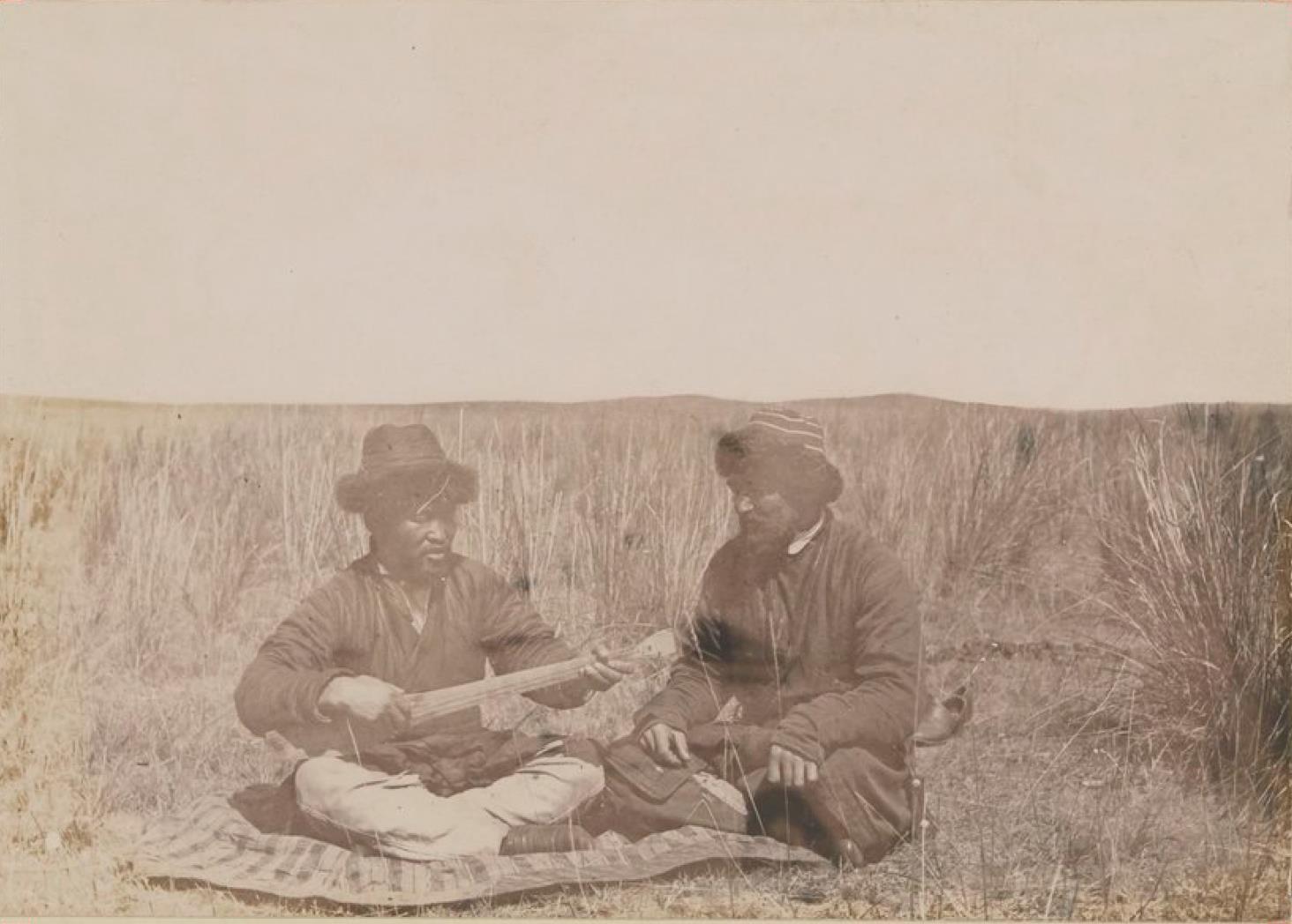 Киргизы Семипалатинской области. Музыканты