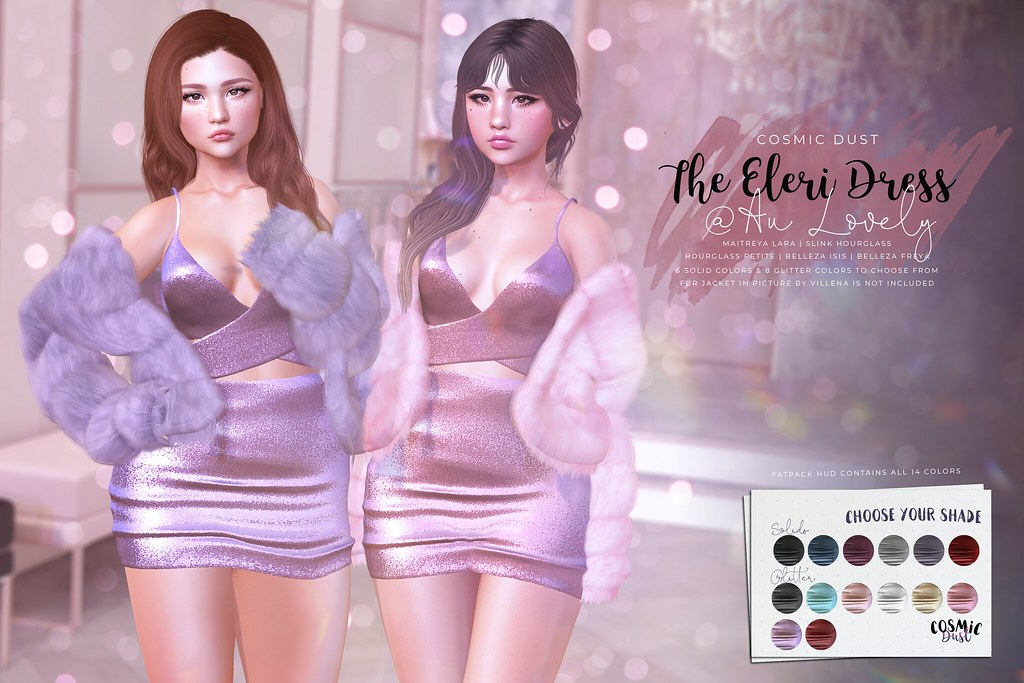 [Cosmic Dust] - The Eleri Dress @ Au Lovely - TeleportHub.com Live!