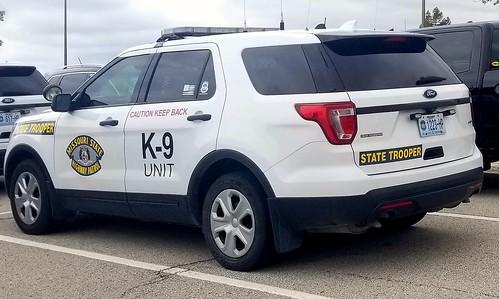 Missouri State Highway Patrol Ford Interceptor Utility K-9