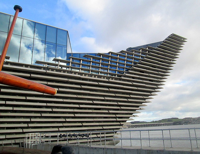 V&A Dundee from RRS Discovery