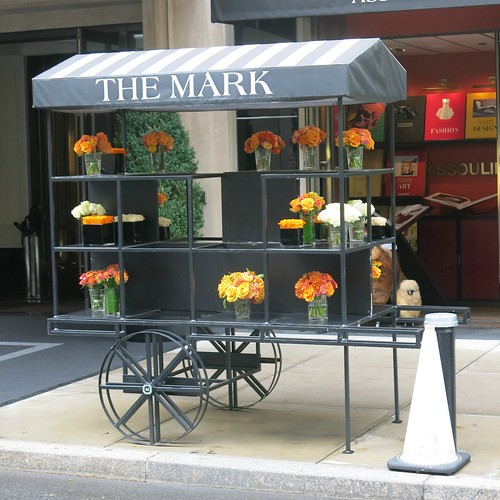 Postcards from New York - The Flower Cart