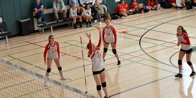 Convent Frosh-Soph Volleyball vs. Drew, Sept. 17, 2018