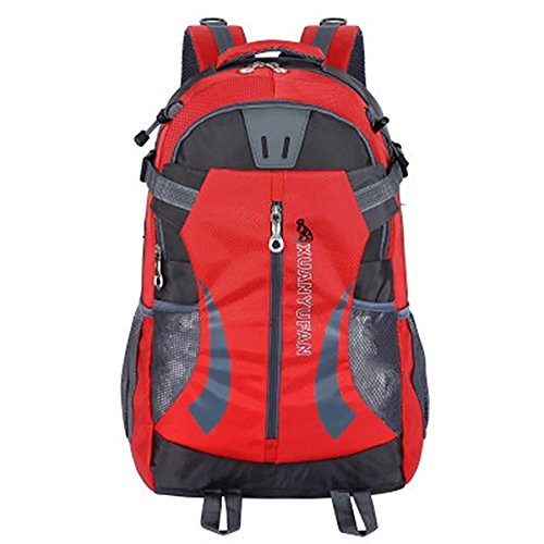 Skyflying 35L Outdoor Sport Hiking Daypacks Mountain Climbing Backpack Bagpack Travel Bag Red Review