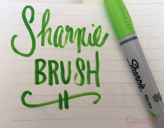 Sharpie Brush Pen @JetPens  1