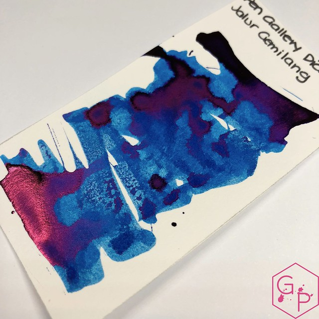 Pen Gallery Diamine Jalur Gemilang Ink Review 5