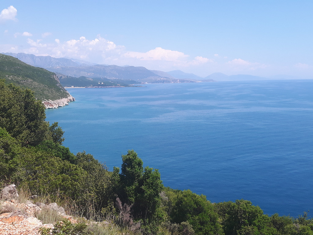 coastline in Albania