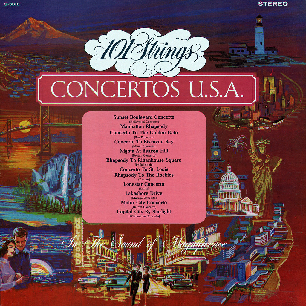 101 Strings - Concertos U.S.A.