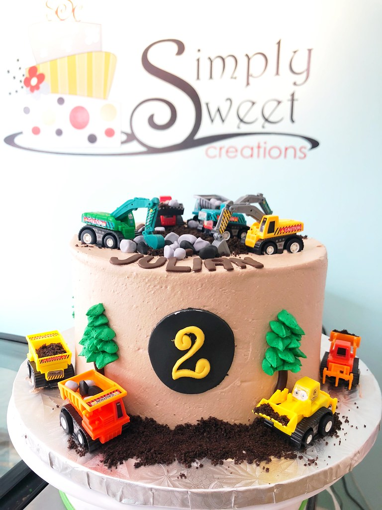 Dump Truck Construction Cake A Photo On Flickriver
