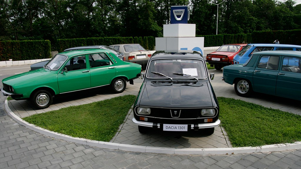 Dacia modelska paleta