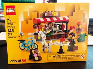 可愛的小店舖現身!! LEGO 40358【甜甜圈店】Bean There, Donut That【Target 限定】