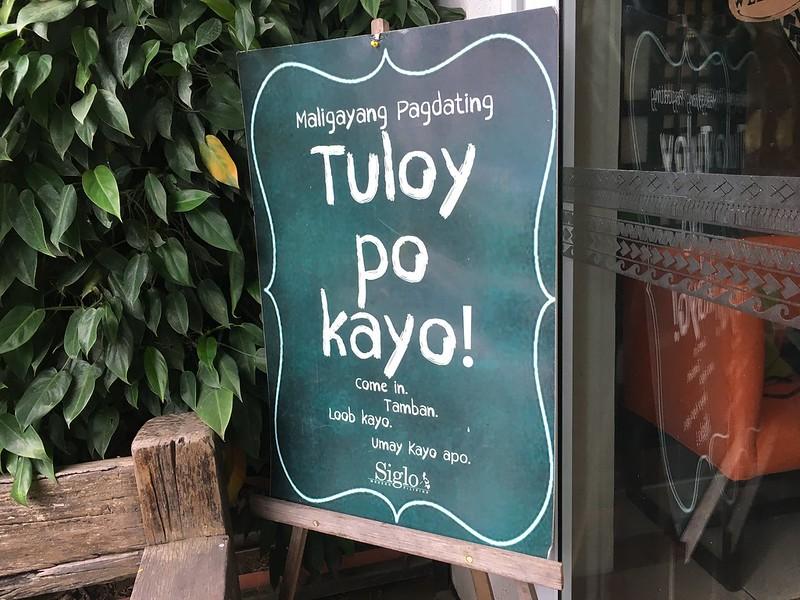Siglo Modern Filipino, Tagaytay