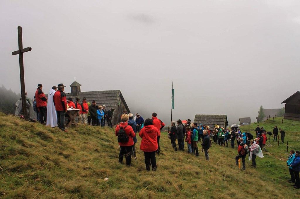 Bergmesse auf der Ardning Alm