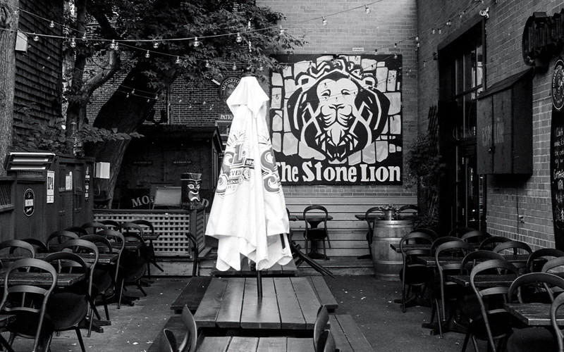 The Stone Lion Patio
