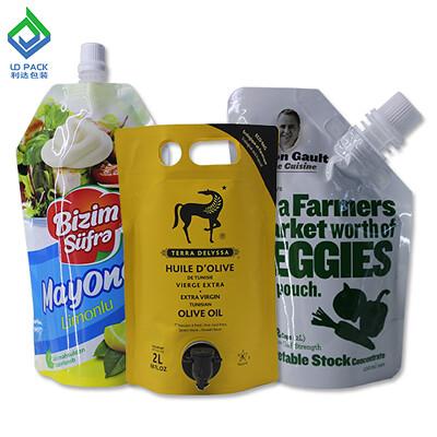 plastic pouches for liquids