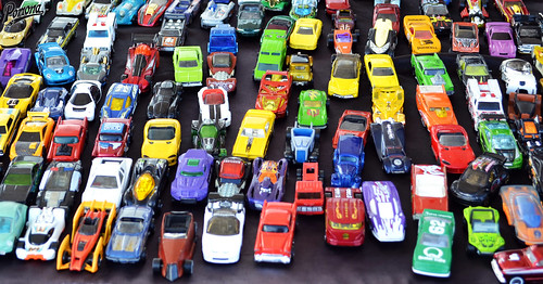 Drone View of the Car Corral