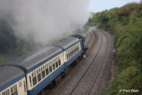 september2018 irishrail iarnrodeireann steamlocomotive rpsi railwaypreservationsocietyofireland vclass 440 no85 merlin newtwopothouse gochoiceholidays