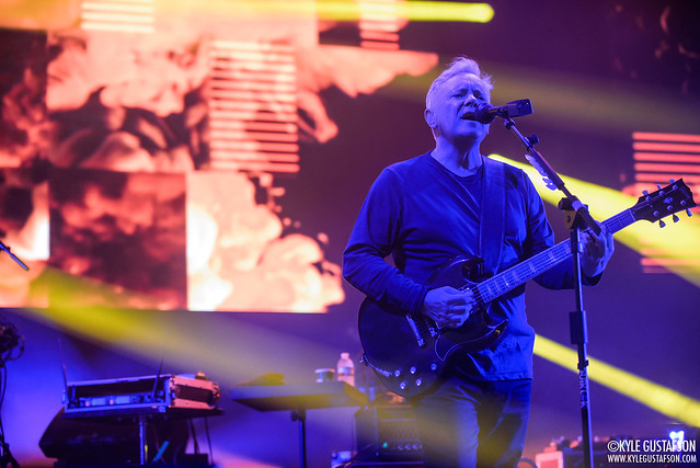 New Order perform at The Anthem in Washington, D.C.