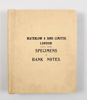 Waterlow and Sons specimen book cover
