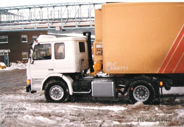 Hired Scania