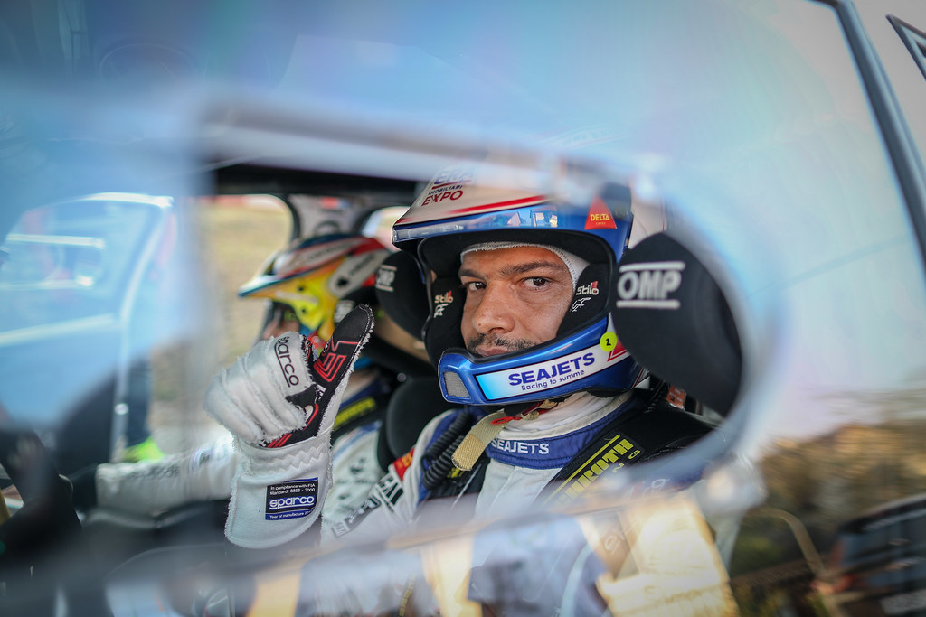 Magalhaes Bruno, PRT, Magalhaes Bruno, Skoda Fabia R5, Portrait during the 2018 European Rally Championship ERC Barum rally,  from August 24 to 26, at Zlin, Czech Republic - Photo Alexandre Guillaumot / DPPI