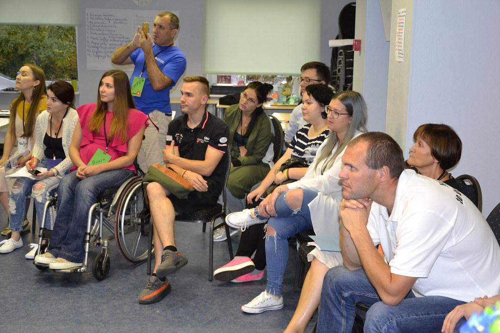 AO ,,Forța Susținerii,, participant la treiningul de instruire ,,COMPASS: comunicarea cu auditoriul în proiectele sociale,, din Estonia