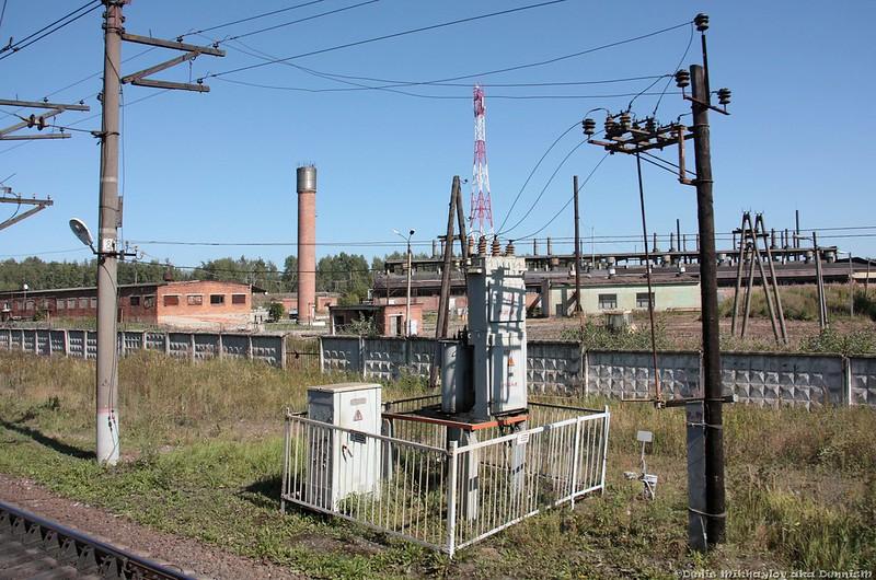 Окрестности станции Нерская (БМО).