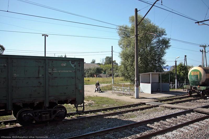 Станция Ильинский погост, БМО.