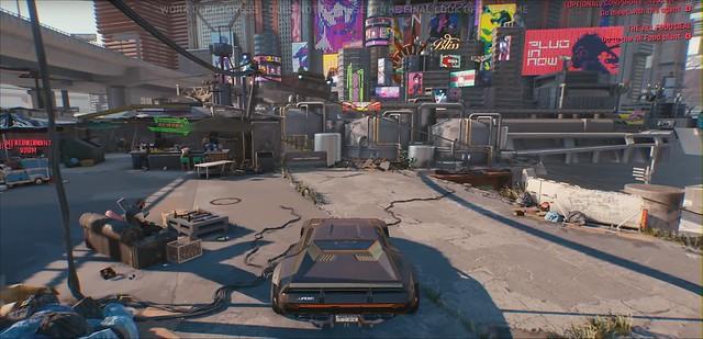 Кіберпанк 2077 - світле місто