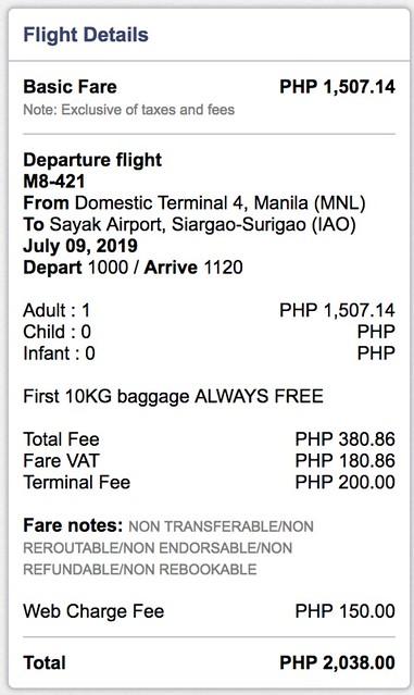 Manila to Siargao SkyJet Airlines September Savings Spree Promo