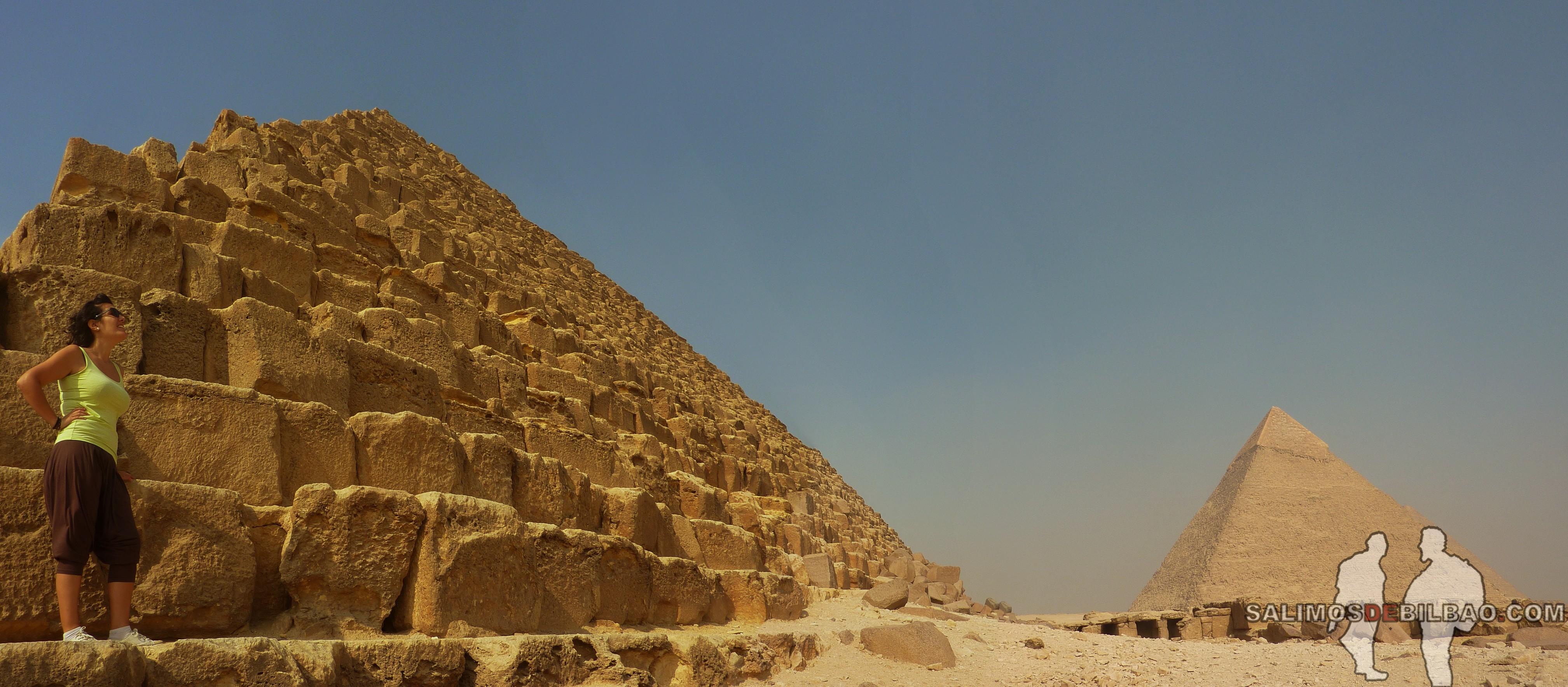 0110. Saioa, Pano, Pirámides de Micerinos y Kefren