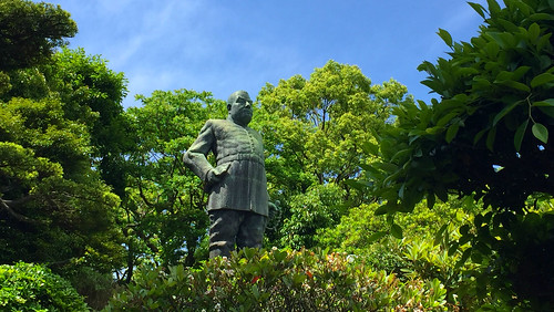 鹿児島市の西郷隆盛銅像