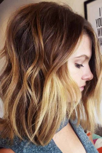 Best Medium Length Haircuts For Thick Hair 2019 -Amazing Look 5