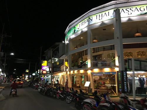 サムイ島チャウエンビーチロード Chaweng Beach Road Koh Samui