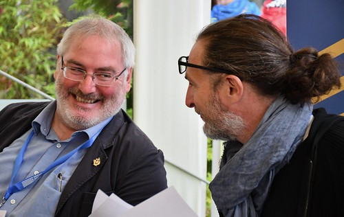 Chris Riddell and Marcus Sedgwick
