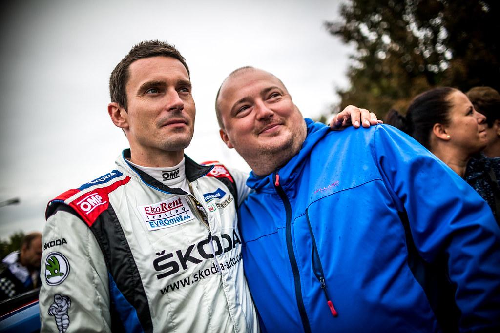 Kopecky Jan, CZE, Skoda Motorsport, Skoda Fabia R5, Portrait during the 2018 European Rally Championship ERC Barum rally,  from August 24 to 26, at Zlin, Czech Republic - Photo Thomas Fenetre / DPPI