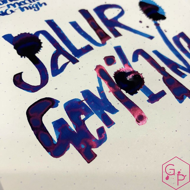 Pen Gallery Diamine Jalur Gemilang Ink Review 16