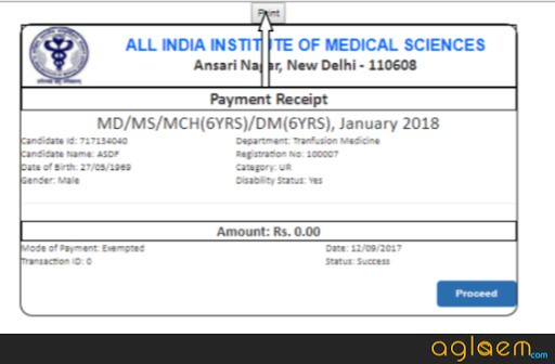 AIIMS PG 2019 Application Form (Released)   Apply Here for PAAR and Final Registration