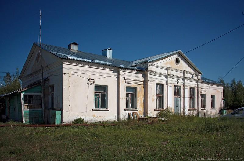 Бывший вокзал станции Давыдово, БМО.