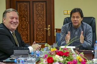 Secretary Pompeo Participates in a Meeting With Pakistan Prime Minister Khan