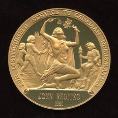 1991 Ferguson medal obverse