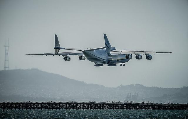 Antonov Airlines Antonov An-225, Sony SLT-A99V, Sony 500mm F4 G SSM (SAL500F40G)