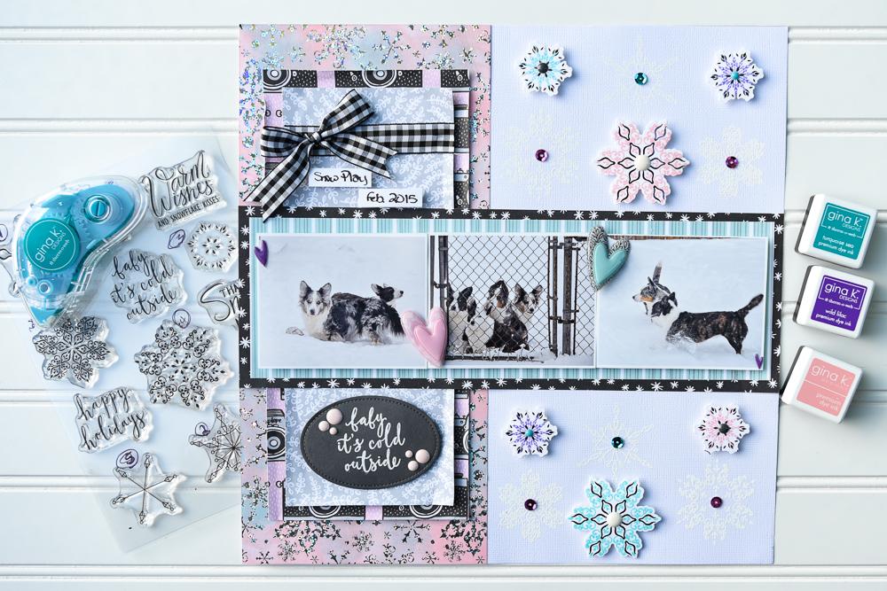 Therm O Web and Gina K Designs Holiday Blog Hop