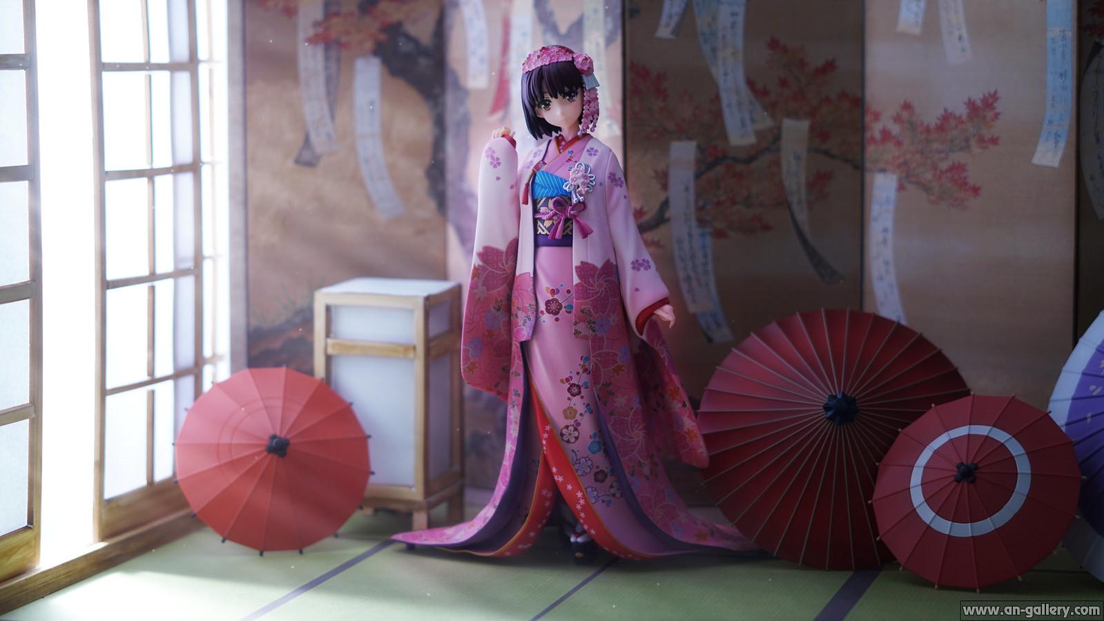 Megumi Kato in Kimono