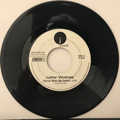 LUTHER VANDROSS:DANCE WITH MY FATHER(RECORD SIDE-A)
