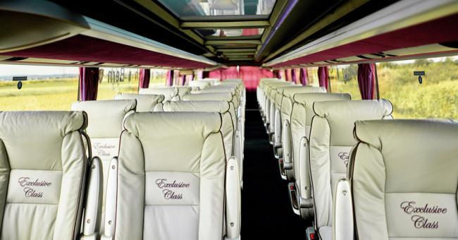 Do Lucernu luxusními autobusy Nobless Line