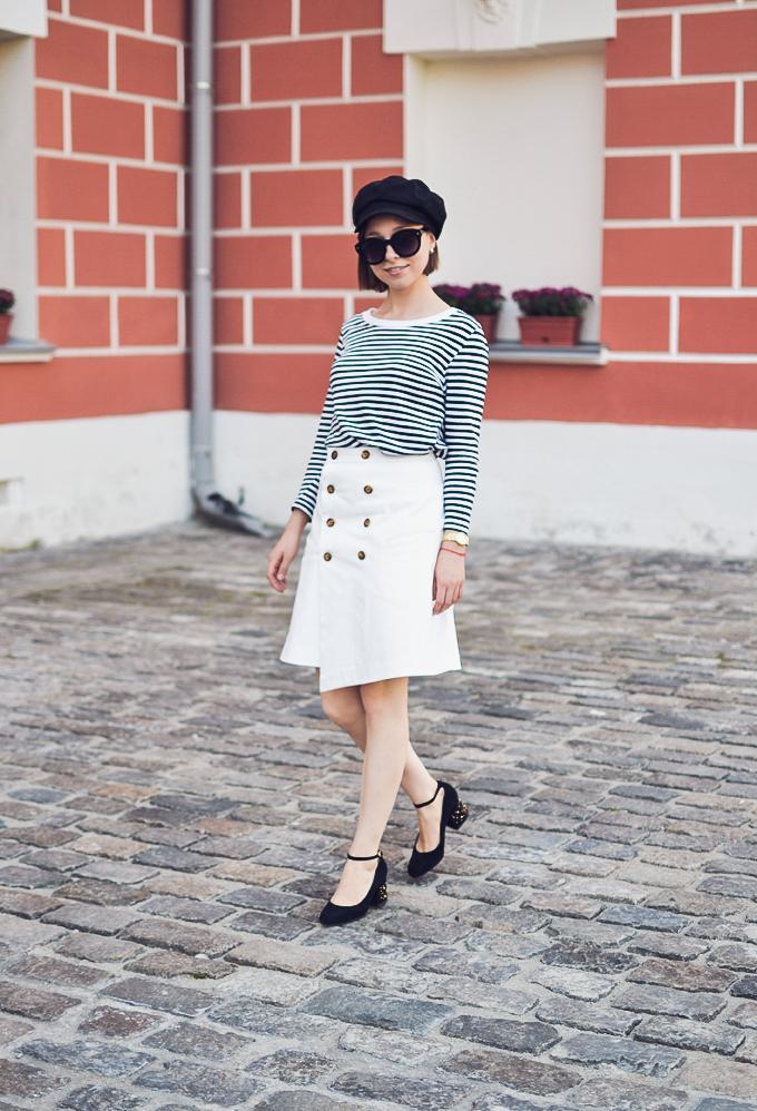 double button wrap skirt vikisews amelia юбка амели-18